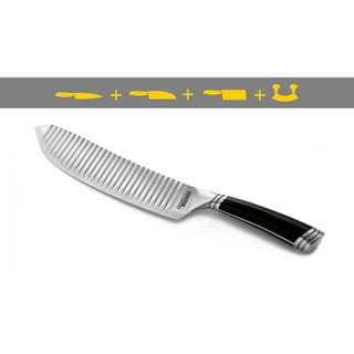 GrooveTech 8-Inch All Purpose Knife