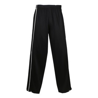 Razor Women's Black/White Polyester Brushed Tricot Long Pants