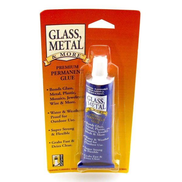 Glass, Metal and More Premium Permanent Glue [Pack of 3]
