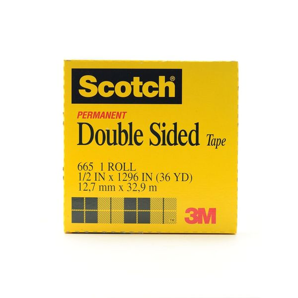 Permanent Double Sided Tape [Pack of 2]