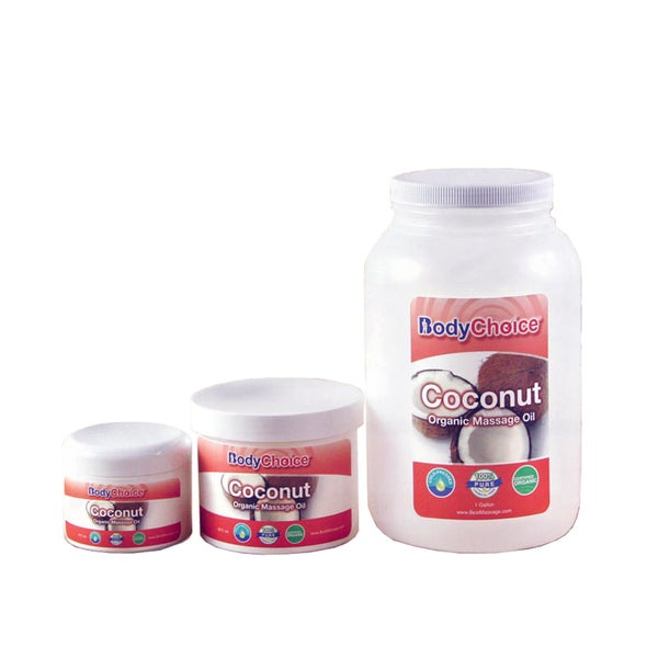 BodyChoice Organic Coconut Massage Oil