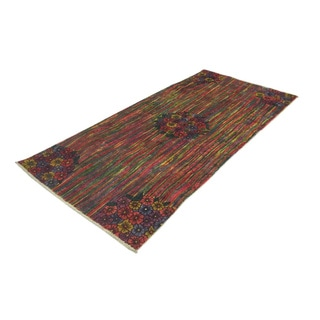 Distressed Rutherford Rust Rug (3'11 x 8'4)