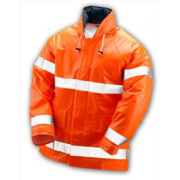 Electra Fluorescent Orange Coat