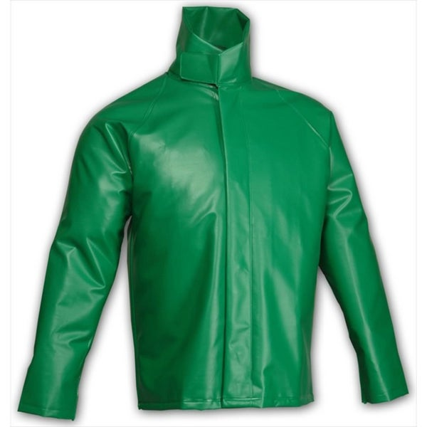 Safetyflex J41008 Green Flame-resistant Storm Fly-front Jacket