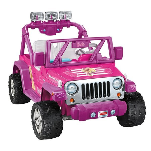 Fisher-Price Power Wheels Barbie Jeep Wrangler 19921808