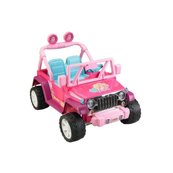 Fisher-Price Power Wheels Barbie Jeep Wrangler