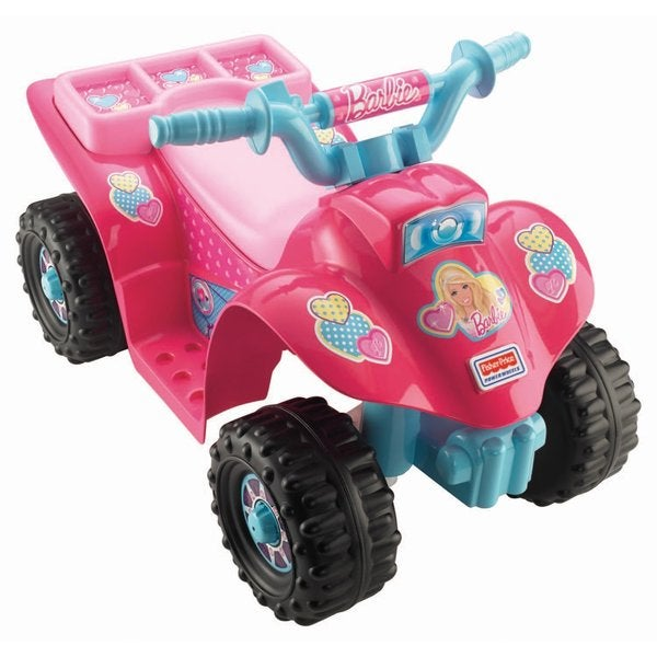 Fisher-Price Power Wheels Barbie Lil' Quad 19921816