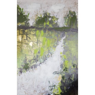 Beau Jones 'Landscape' 24-inches Wide x 36-inches High Canvas Art