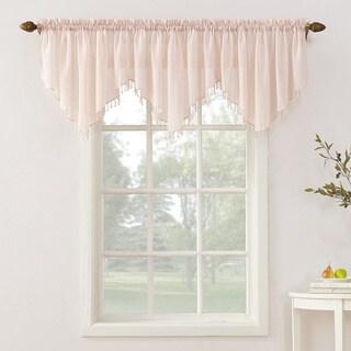 No. 918 Erica Sheer Crush Voile Single Ascot Curtain Valance