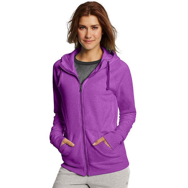 Champion Women's Fleece Full Zip Hoodie 19922559