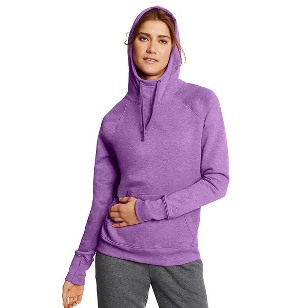 Champion Women's Fleece Pullover Hoodie 19922811