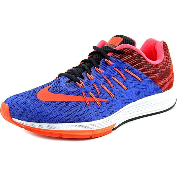 Nike Men's Air Zoom Elite 8 Blue/Red/Orange Mesh Athletic Shoes