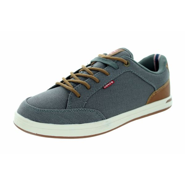 Levi's Kids Grey Canvas Casual Walking Shoe