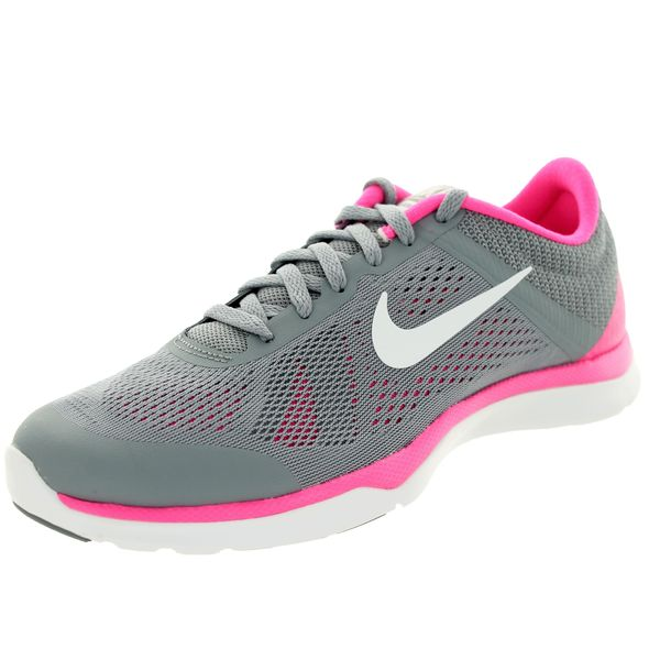 Nike Women's In-season TR 5 Stealth/White/Pink/Grey Training Shoes