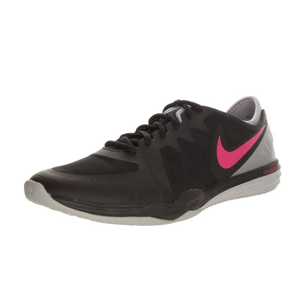 Nike Women's Dual Fusion Tr 3 Black/Pink Pow/Wolf Grey Training Shoe
