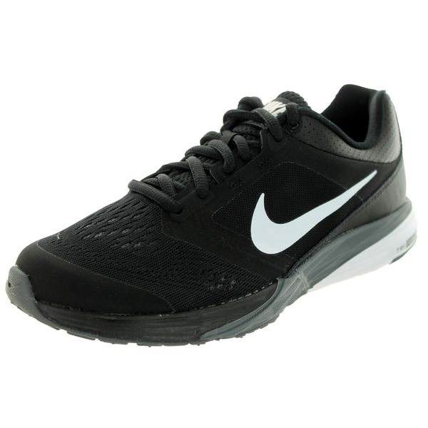 Nike Women's Tri Fusion Run Black/White/Dark Grey Running Shoe