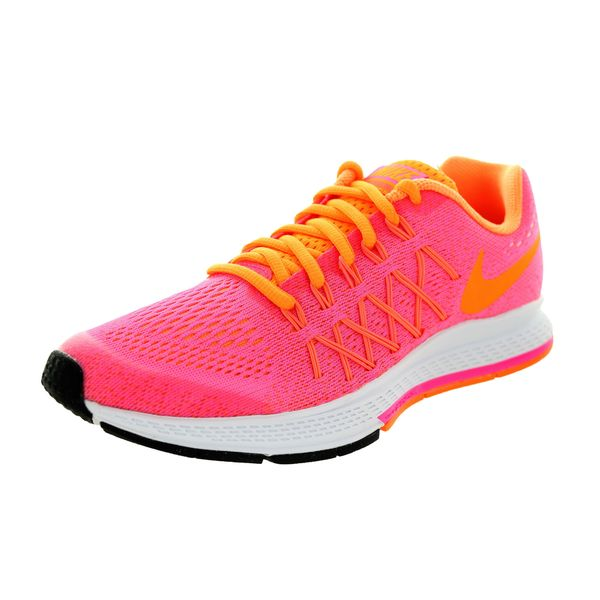Nike Kids' Air Zoom Pegasus 32 (Gs) Pink Pow/Brightt Citrus/White Running Shoe