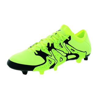 Adidas Men's X 15.2 FG/AG Yellow/Black Soccer Cleats