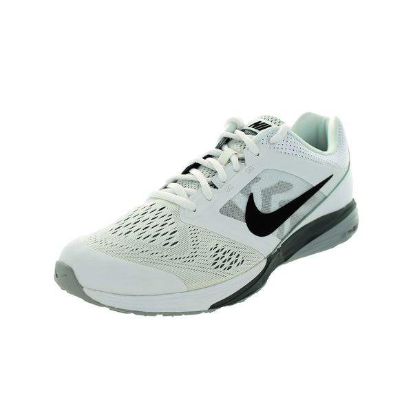 Nike Men's Tri Fusion Run White/Black/Cool Grey/Grey Running Shoes