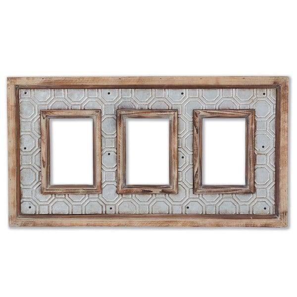 Punch Metal Triple Frame