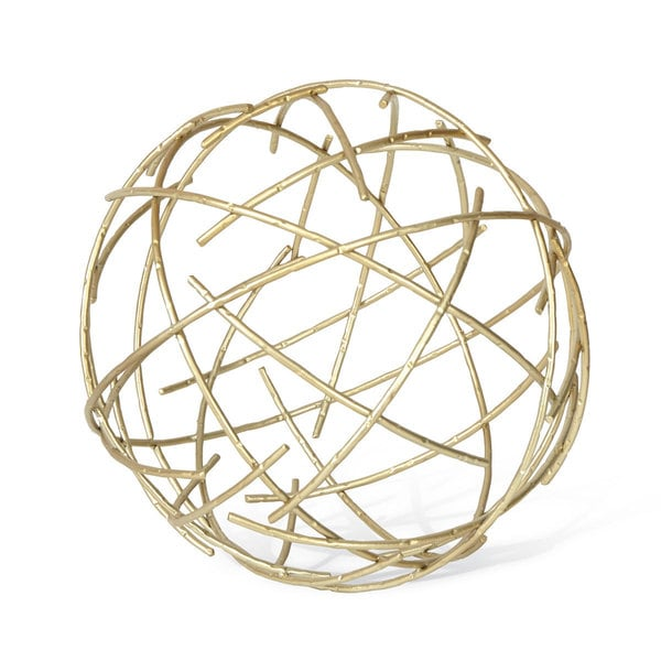 Brass Stick Sphere Large