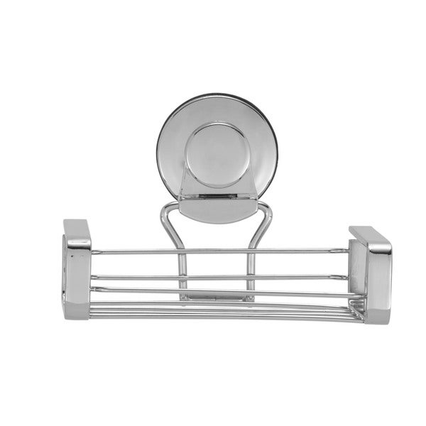 Everloc Solutions Stainless Steel Suction Cup Soap Holder 19930583