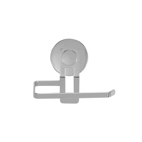 Everloc Solutions Stainless Steel Suction Cup Toilet Roll Holder 19930622