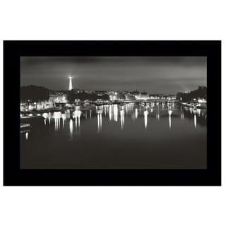 Chris Honeysett - Paris at Night Framed Art