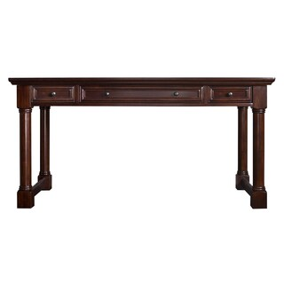 Montreal Brown Wood Laptop/Writing Desk