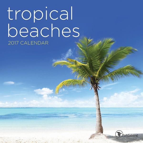 2017 Tropical Beaches Mini Calendar