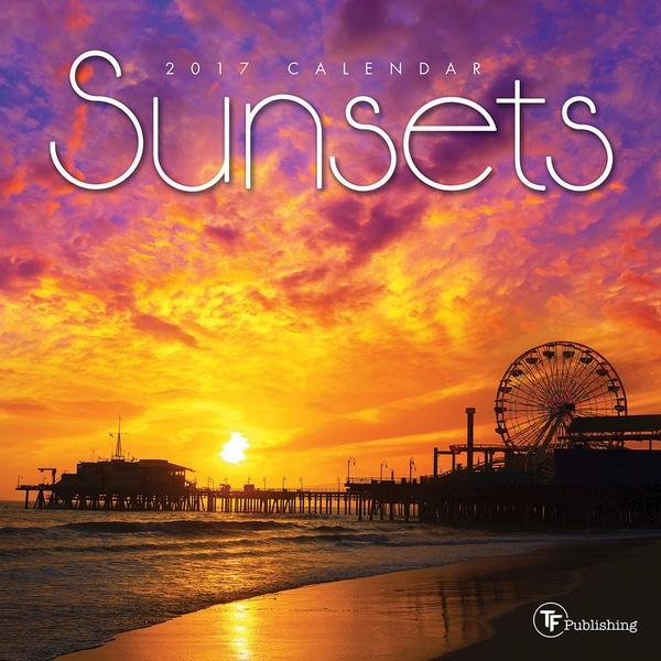 2017 Sunsets Mini Calendar