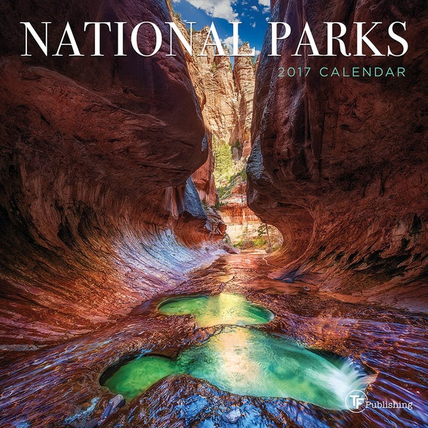 2017 National Parks Mini Calendar