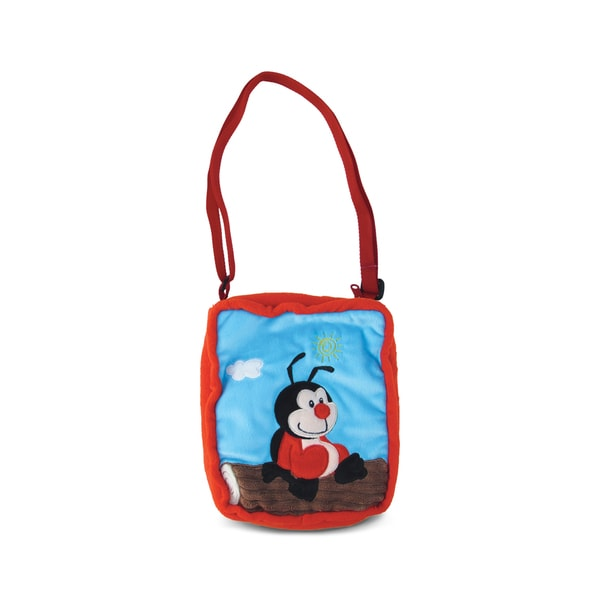 Puzzled Lady Bug 9-inch Shoulder Bag