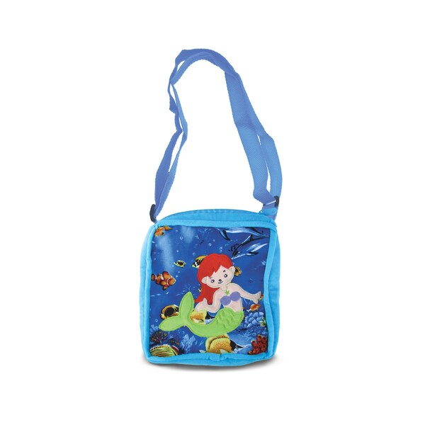 Puzzled 8-inch Mermaid Shoulder Bag
