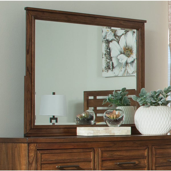 Golden Brown MDF Mirror