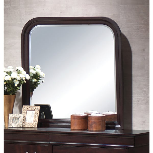 Louis Philippe Wood Mirror