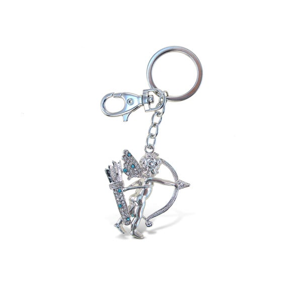 Puzzled Sparkling Cupid Charm