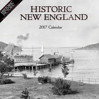 2017 Historic New England Wall Calendar