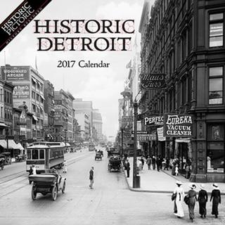 2017 Historic Detroit Wall Calendar