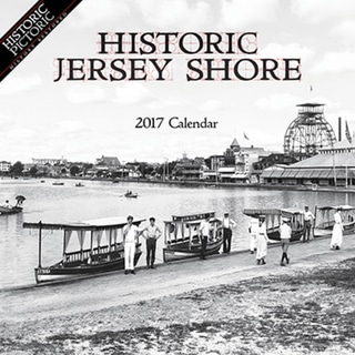 2017 Historic Jersey Shore Wall Calendar