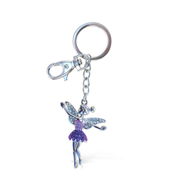 Puzzled Sparkling Fairy Charm
