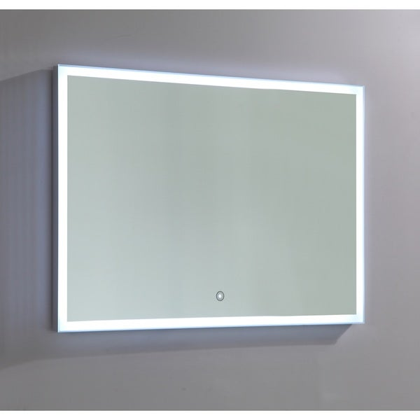 Vanity Art LED-lighted Touch Sensor Mirror