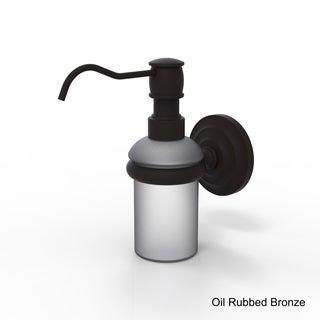 Allied Brass Clear/Bronze Wall-mounted Soap Dispenser