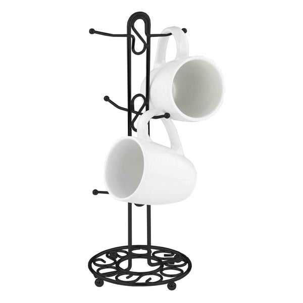 The Scroll Collection Metal Mug Tree