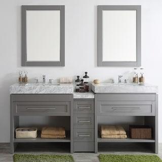 silkroad exclusive 92 inch carrara white marble stone countertop
