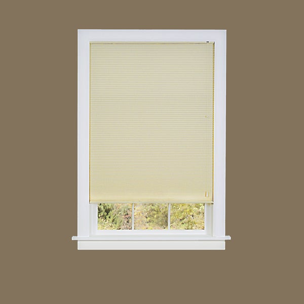 Honeycomb Beige Polyester Pleated Cellular Shade