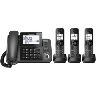 Panasonic Link2Cell Bluetooth Corded/Cordless Phone and Answering Machine