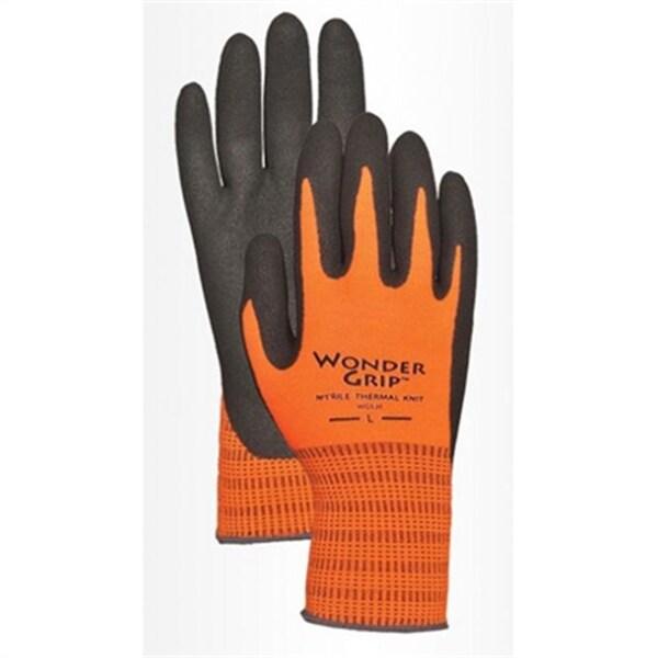 Hi-Visibility Orange Acrylic with Nitrile M