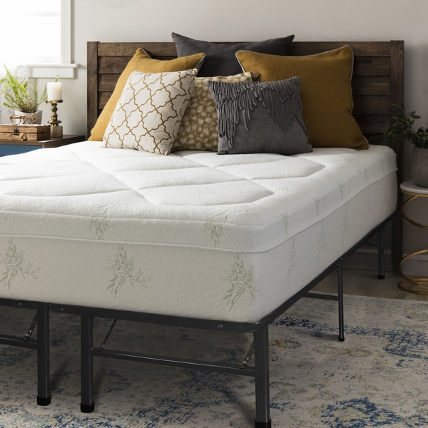 Crown Comfort Premium Grand 12-inch King-size Memory Foam Mattress Set