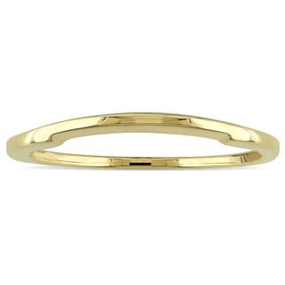 Miadora 14k Polished Yellow Gold Classic Wedding Band
